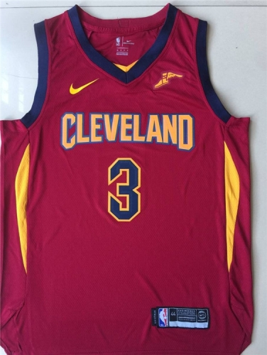 2019 Cleveland Cavaliers George Hill 3 Adult Fan Edition NBA Basketball Jersey
