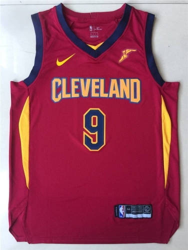 2019 Cleveland Cavaliers Channing Frye 9 Adult Fan Edition NBA Basketball Jersey