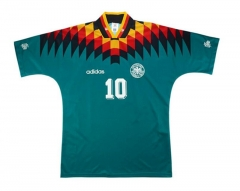 1994 Germany Away Retro Shirt Matthäus #10