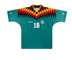 1994 Germany Away Retro Shirt Klinsmann #18