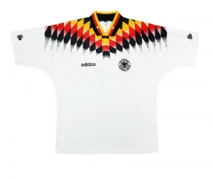 1994 Germany  Home Retro Shirt Matthäus #10   Klinsmann #18