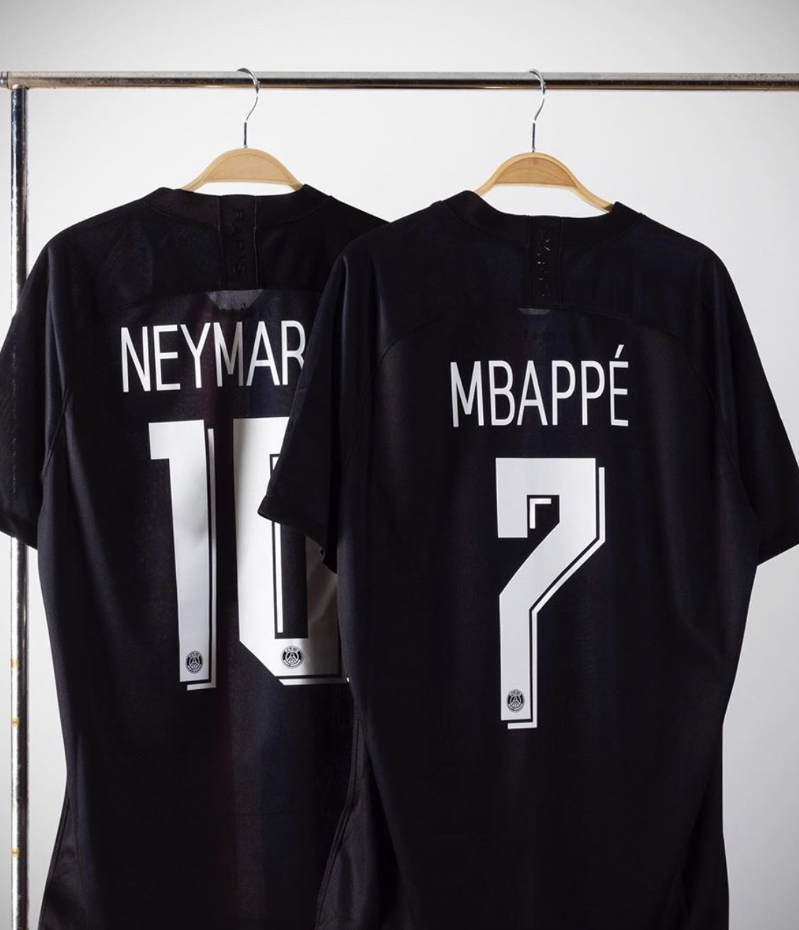 2019 2020 PSG  Mbappe #7  NEYMAR JR #10 Soccer Jersey   JORDAN Paris saint-germain fourth Player version