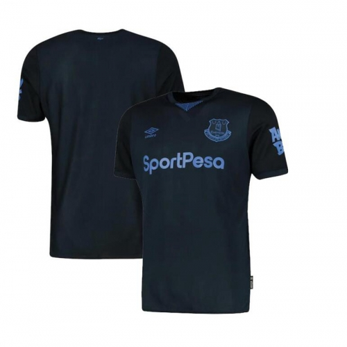 2019 20 Everton Third Shirt Men's Jersey  (You can customize name and number + patch)