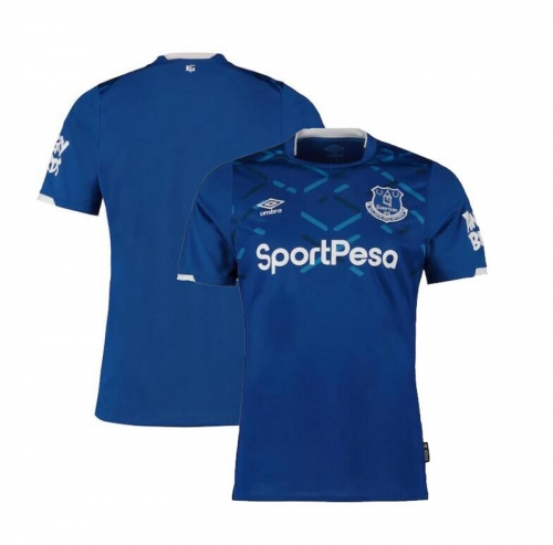 2019 20 Everton home Shirt Men's Jersey  (You can customize name and number + patch)