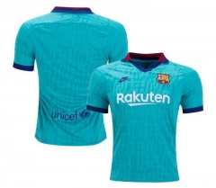 2019 2020 Barcelona 3rd soccer Jersey   (You can customize name and number +  patch