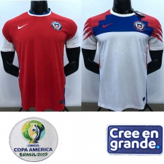 2020 Chile home away soccer jersey men's jersey (customizable name number + patch)