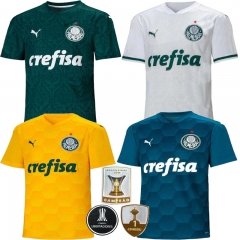 2020 2021 Palmeiras home AWAY  football jersey men's jersey  (You can customize name and number + patch)