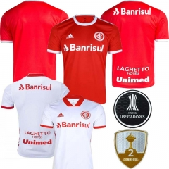 2020 21 SC INTERNACIONAL home AWAY WHITE SOCCER JERSEY SHIRT (You can customize name and number + patch)