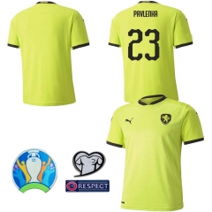 2020 EURO Czech HOME away football JERSEY BY men's jersey (customizable name number patch)