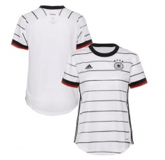 2020 Euro Germany Home Shirt woman Football Jersey (You can customize the name number + patch)