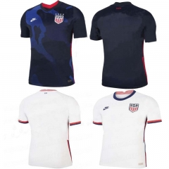 2020 United States USA HOME away football JERSEY BY men's jersey (customizable name number + patch)