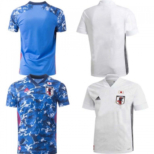 2020 Japan HOME away football JERSEY BY men's jersey (customizable name number + patch)