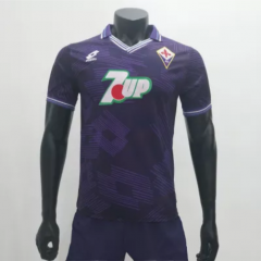 Fiorentina 19921993 Home Retro Soccer Jerseys (customizable number name)