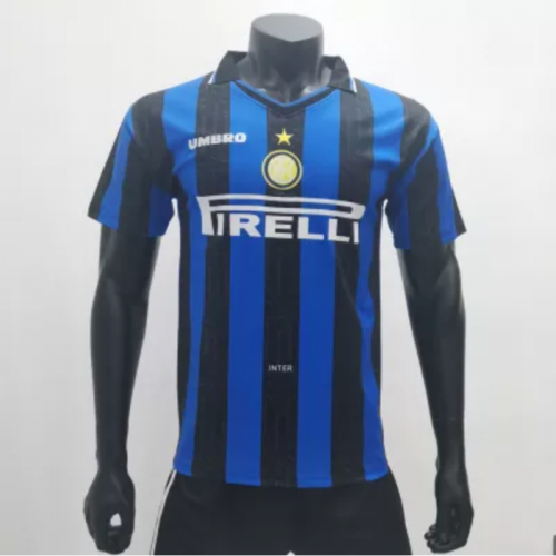 Inter Milan 1997/1998 Home Retro Soccer Jerseys(customizable number name)