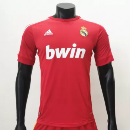 Real Madrid 2011/2012 Champions League Third Retro Jerseys(customizable number name)