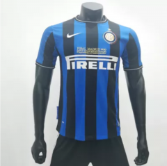 Inter Milan 2009/2010 Home Retro Soccer Jerseys(customizable number name)