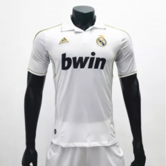Real Madrid 2011/2012 Home Retro Soccer Jerseys(customizable number name)