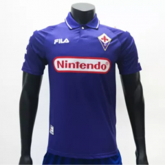 Fiorentina 19981999 Home Retro Soccer Jerseys (customizable number name)