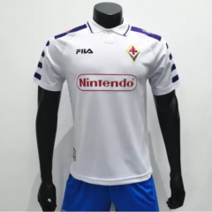 Fiorentina 1998/1999 AwayRetro Soccer Jerseys (customizable number name)