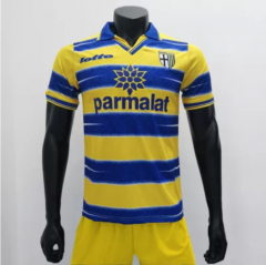 Parma 1998/1999 Home Retro Soccer Jerseys (customizable number name)