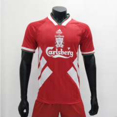 Liverpool 1993/1995 Home  Retro Soccer Jerseys (customizable number name)