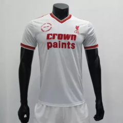 Liverpool 1985/1986 Away Retro Soccer Jerseys (customizable number name)