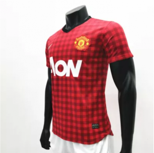 Manchester United 2012/2013 Home Retro Soccer Jerseys(customizable number name)