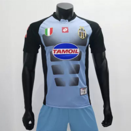 Juventus 2002/2003 Goalkeeper Retro Jerseys (customizable number and name)