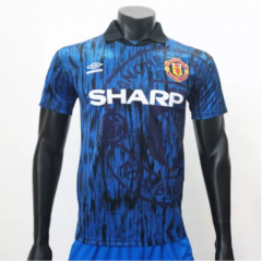 Manchester United 1992/1993 Away Retro Soccer Jerseys(customizable number name)