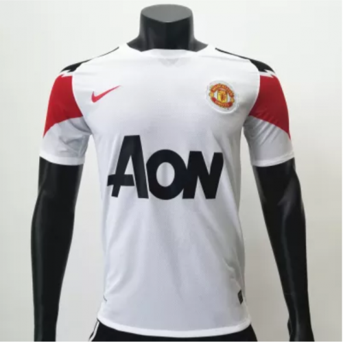 Manchester United 2010/2011 Away Retro Soccer Jerseys(customizable number name)