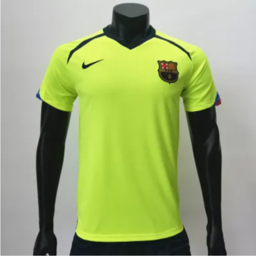 Baecelona 2005/2006 Away Retro Soccer Jerseys(customizable number name)