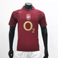 Arsenal 2005/2006 Home Retro Soccer Jerseys(customizable number name)