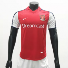 Arsenal 1998/1999 Home  Retro Soccer Jerseys(customizable number name)