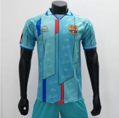 Barcelona 1995/1997 Away Retro Soccer Jerseys(customizable number name)