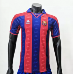 Barcelona 1995/1997 Home  Retro Soccer Jerseys(customizable number name)