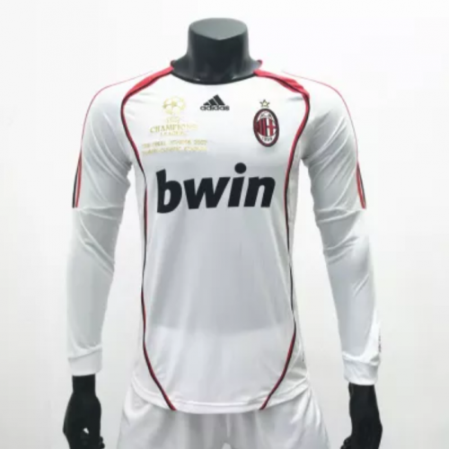 AC Milan 20062007 Away Retro Soccer Jerseys(customizable number name)