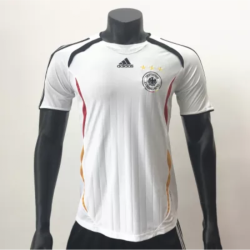 Germany 2006 Home Retro Soccer Jerseys(customizable number name)