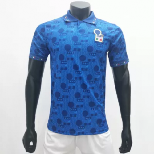 Italy 1994 Home Retro Soccer Jerseys(customizable number name)