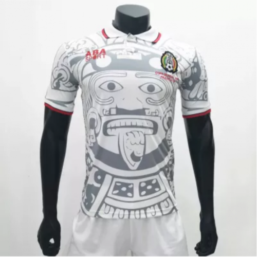 Mexico 1998 Away Retro Soccer Jerseys(customizable number name)