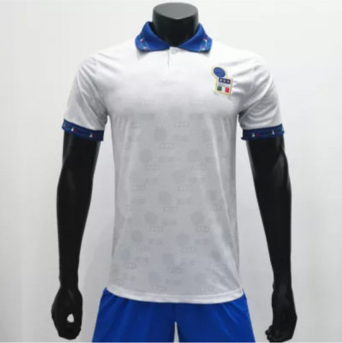 Italy 1994 Away Retro Soccer Jerseys(customizable number name)