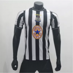 Newcastle United 1997/1999 Home Retro Soccer Jerseys (customizable number name)