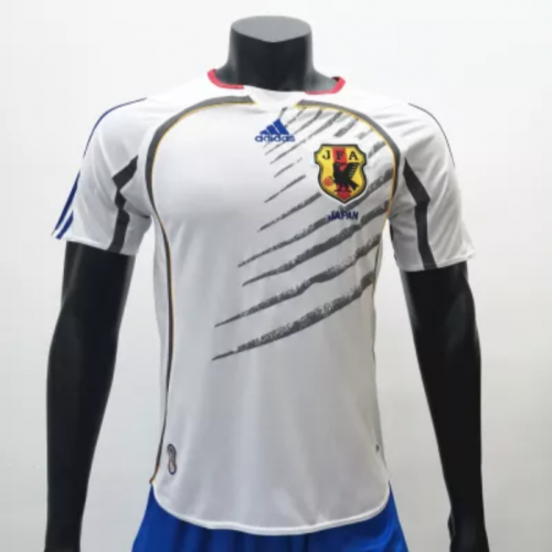 Japan 2006 Away Retro Soccer Jerseys(customizable number name)