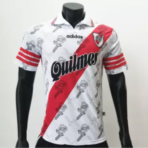 River Plate 1996/1998 Home Retro Soccer Jerseys(customizable number name)