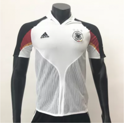 Germany 2004/2005 Home Retro Soccer Jerseys(customizable number name)