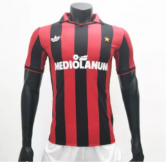 AC Milan 1990/1991 Home Retro Soccer Jerseys(customizable number name)