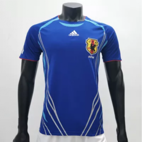 Japan 2006 Home Retro Soccer Jerseys(customizable number name)