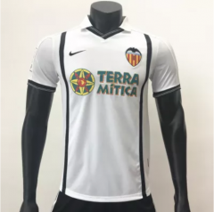 Valencia 2000-2001 Home Retro Soccer Jerseys(customizable number name)