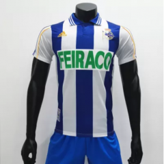 Deportivo 1999/2000 Home Retro Soccer Jerseys(customizable number name)