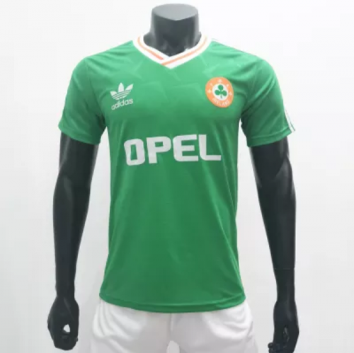 Ireland 1990/1992 Home Retro Soccer Jerseys(customizable number name)