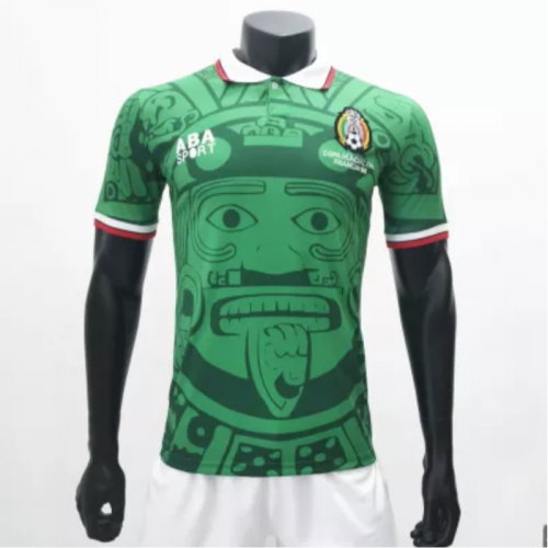 Mexico 1998 Home Retro Soccer Jerseys(customizable number name)